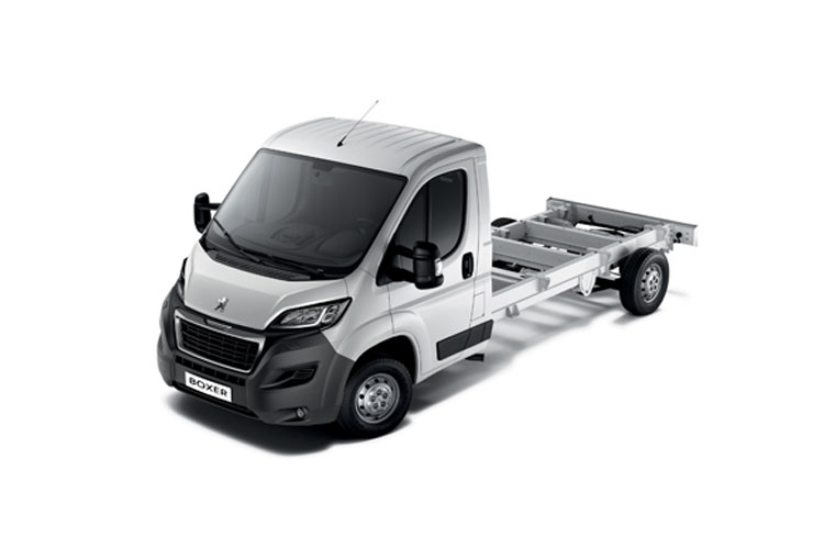 Boxer Chassis Cab leasing