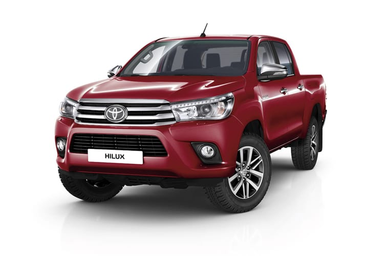 Hilux Double Cab leasing