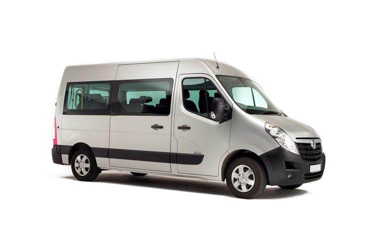 Movano Combi-Trabus-Minibus leasing
