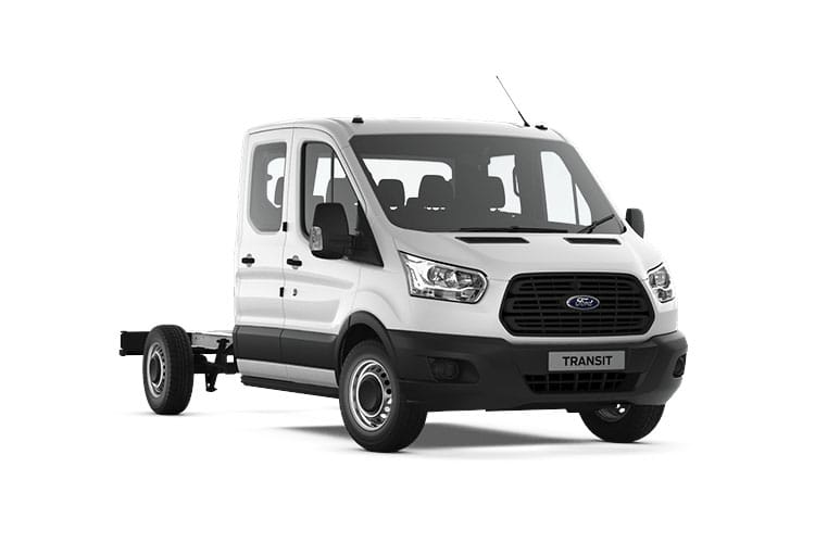 Transit Chassis Double Cab leasing