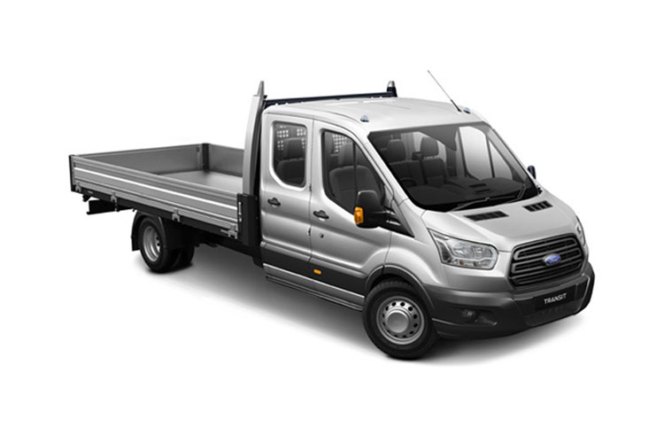 Transit Chassis Double Cab Dropside leasing