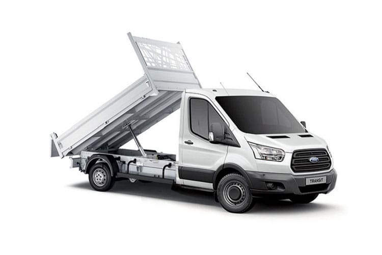 Transit One Stop Double Cab Tipper leasing